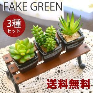 送料無料 観葉植物Sサイズ フェイクグリーン ブラック 3個セット|hat-shop