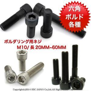 ボルダリング クライミングホールド用 スクリューネジ ボルド 直径10M 長さ20MMから60MMまで 50個入りセット 六角形ネジ 多種ご用意|hatano-store