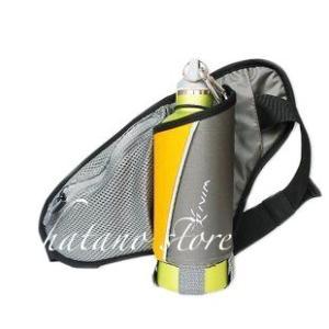 夜光反射素材使用 ランニング ウォーキング ジョギングアクセサリー ウェストポーチ ボトルポーチ ウェストバッグ|hatano-store