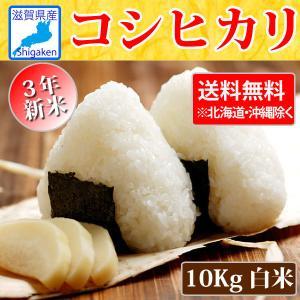 令和3年新米 滋賀県産コシヒカリ10kg 送料無料※一部地域を除く 滋賀県ご当地モール|hatasyou-ten