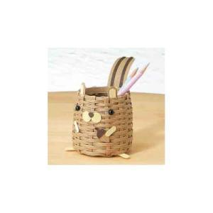 Hamanaka 手芸パック h360-192 エコクラフト手芸 しまリスのペンたて 手芸 手作り 洋裁|hatawa-koko