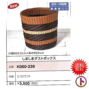 Hamanaka 手芸パック しましまダストボックス エコクラフト手芸ゆうパケまたは定形外 手芸 手作り 洋裁|hatawa-koko