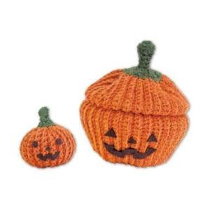 オリムパス Olympus かぼちゃのハッピーBOX あみぐるみキット 手芸 手作り 洋裁|hatawa-koko