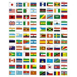 外国旗 70×105cm全世界の国旗お手頃価格でお作りいたします旗 フラッグ FLAG160か国対応...
