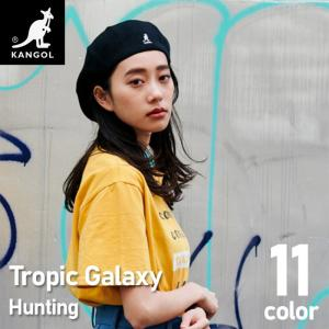 帽子 カンゴール KANGOL ハンチング ベレー帽 トロピック ギャラクシー  帽子 ぼうし 正規取扱い カンガルー メンズハンチング レディースハンチング ギの画像