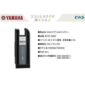 ヤマハ 6.6AhリチウムMバッテリー 90793-25124 旧品番 90793-25095 パス...