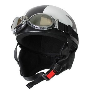 バイクパーツ ヘルメット ヘルメット ビンテージヘルメット ホワイト/スター 取寄品|hatoya-parts-nb