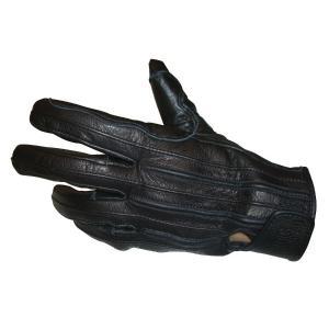 バイク ウェア CLEVER メンズ3シーズンレザーグローブ BLACK #LL クレバー COG-...