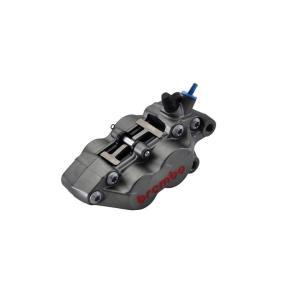 ブレンボ Axial 4Pキャリパー チタン キャスト 右用40mmピッチ (ブレンボ 20.5165.89)|hatoya-parts-nb