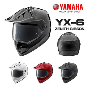 在庫あり ヤマハ YX-6 ZENITH GIBSON 907911779 (YAMAHA ゼニス YX-6 オフロード ヘルメット 907911779)|hatoya-parts-nb