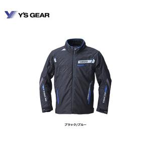 在庫特価  バイク用品 ジャケット YAMAHA × RSタイチ YAF61-R レーサーオールシーズンジャケット  防寒 冬ジャケ|hatoya-parts-nb