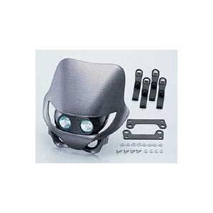 キタコ エンデューロヘッドライト 横型 エイプ カーボンモデルモデル調 【取寄品】|hatoya-parts