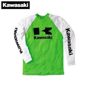 【KAWASAKI】【カワサキ】ロングフォーMXシャツ【J8901-0400】【取寄品】|hatoya-parts