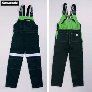 【KAWASAKI】【カワサキ】メカニックオーバーオールII【取寄品】|hatoya-parts