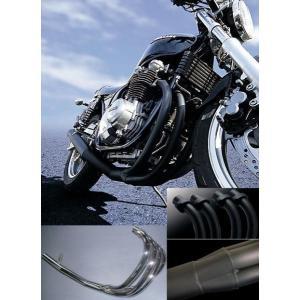 代引不可/ヤマト便/送料無料/M-TEC バイク マフラー ショート管 ブラック CB750F RC04 MRS-MUH75-01B 【取寄品】|hatoya-parts