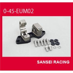 サンセイレーシング マフラー エンデュランス アップハンドルクランプ NINJA250R 0-45-EUM02 取寄品|hatoya-parts