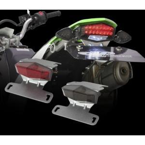 ダートフリーク バイク DRC MOTOLED エッジ アルミホルダー Dトラッカー 125/KLX125 【取寄品】|hatoya-parts