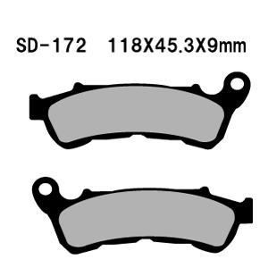 ベスラ バイク ブレーキパットVT1300CRA ABS 10-11年式 SD-172 取寄品 ネット通販限定価格 hatoya-parts