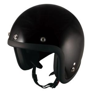 ◆◆TNK バイク ジェットヘルメット フリーサイズ 58-59センチ BK JL-65 【取寄品】|hatoya-parts