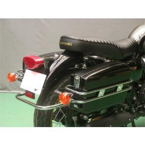 【旭風防】【バイク用】【ハード】【サイドバッグ】カワサキ W800専用 チャンピオンバッグ【AC-17】 【取寄品】|hatoya-parts