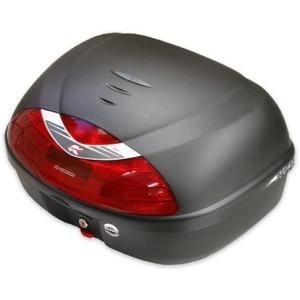 KAPPA リアボックス トップケース 無塗装ブラック 42L K42N モノロック カッパはGIVIと並ぶイタリアのトップメーカー 送料無料|hatoya-parts