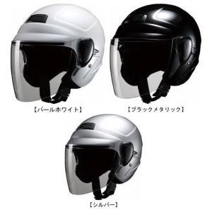 MARUSHIN マルシン工業 サングラス機能付 セミジェット ヘルメット M-530 取寄品 hatoya-parts
