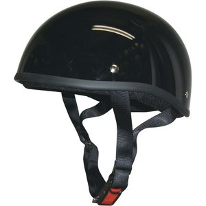 バイクパーツ ヘルメット ヘルメット ダックテールヘルメット ブラック 取寄品|hatoya-parts