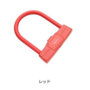 バイクパーツ 盗難防止用品/バイクカバー TORUNA38 ダイヤル式Uロック レッド TORUNA38 取寄品|hatoya-parts