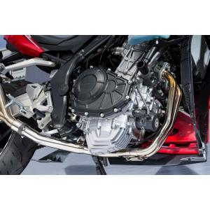 ヤマモト.R SPEC-A EX ASSY チタン CBR250RR 17-(2BK-MC51) 《ヤマモトレーシング 10265-000TC》|hatoya-parts