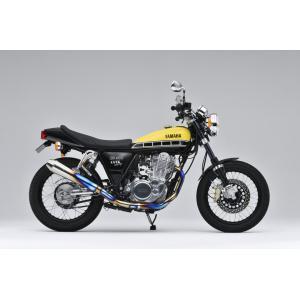 OVER チタンメガホン スポーツアップタイプ SR400(FI) 《オーヴァー 16-401-07》|hatoya-parts