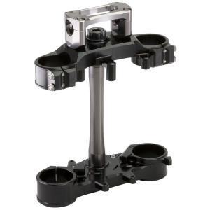 ZETA トリプルクランプキット BLK 3mmオフセット WR250R/X (ジータ ZE14-4253)|hatoya-parts
