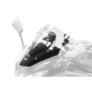 MRA スクリーンレーシング クリア Ninja650 12-16/Ninja400 14-17 《エムアールエー 4025066132546》|hatoya-parts