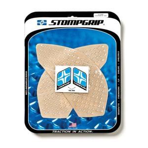 STOMPGRIP トラクションパッドタンクキット クリア Ninja650 12-15 《ストンプグリップ 55-10-0044》|hatoya-parts