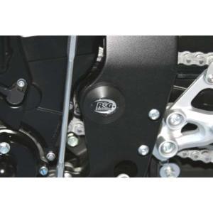 R&G フレームインサート BLK GSX-S1000/F 15-/GSX-R600 K8-L5 《アールアンドジー RG-FI0007BK》|hatoya-parts