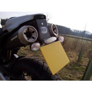 R&G フェンダーレスキット ブラック MT-03(660cc) 《アールアンドジー RG-LP0026BK》|hatoya-parts