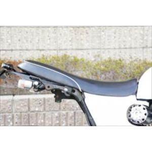 バイク 外装 ai-net アイネット ローダウンシート(ブラック ホワイト) エイプ50 100 ...