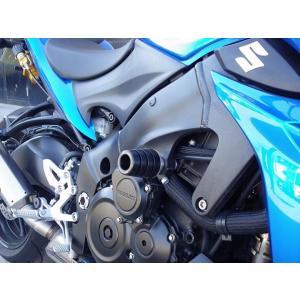 ストライカー ガードスライダー 黒ジュラコン GSX-S1000 15- 《ストライカー SS-GS134A-F1》|hatoya-parts
