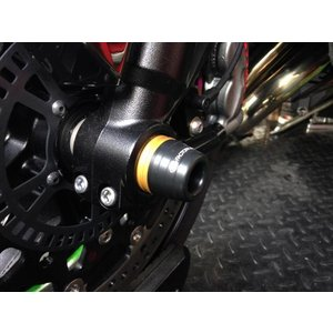 K-FACTORY フロントアクスルスライダー NINJA H2 《ケイファクトリー 172LZBI063B》|hatoya-parts