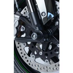 R&G フォークプロテクター BLK Ninja H2/H2R 15- 《アールアンドジー RG-FP0170BK》|hatoya-parts