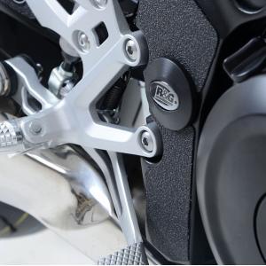 R&G フレームインサート BLK RHロア GSX-S1000/F ABS 15- 《アールアンドジー RG-FI0110BK》|hatoya-parts