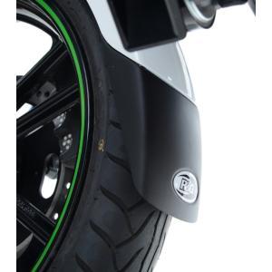 R&G フロントフェンダーエクステンダー BLACK GSX-S1000/F 15- 《アールアンドジー RG-FERG0016BK》|hatoya-parts