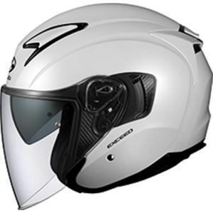 バイク OGK EXCEED パールホワイト #XL オージーケー 4966094576851 取寄品|hatoya-parts