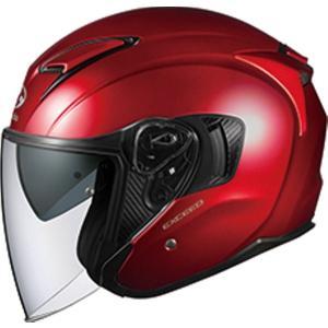 バイク OGK EXCEED シャイニーレッド #XL オージーケー 4966094576950 取寄品|hatoya-parts