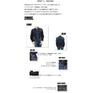 MACNA SUNRISE (メッシュジャケット ツーリング)《メッシュジャケット オシャレ かっこいい マクナ ツーリング》|hatoya-parts|04