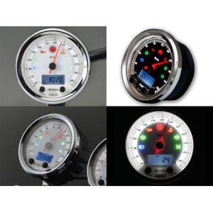 【謝恩セール】ACEWELL エースウェル 多機能デジタルメーターCA085-100 200シリーズ CA085-100 200 《スピードメーター バイク用》|hatoya-parts