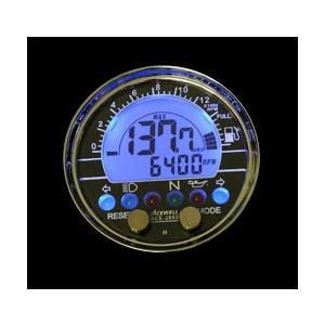謝恩セール ACEWELL エースウェル 多機能デジタルメーター ACE-2853L(100Ωタイプ) (スピードメーター バイク用)|hatoya-parts