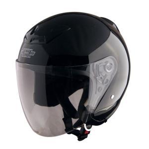 TNK工業 SPPEDPIT バイク用 スピードピット XX−505 XXLサイズシールドジェット XX−505 ブラック 取寄品|hatoya-parts