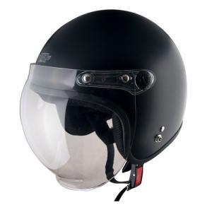 【TNK工業】【SPPEDPIT】【バイク用】【スピードピット】XX-606 XXLサイズ シールド付ジェット型ヘルメット【XX−606】ハーフマットブラック|hatoya-parts