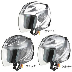 アウトレット【LEAD】【リード工業】【STRAX】【ストラックス】SJ-9 グラフィックジェットヘルメット hatoya-parts
