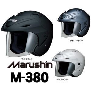 マルシン工業 Marushin バイク用 マルシン ジェットヘルメット M-380 取寄品 hatoya-parts